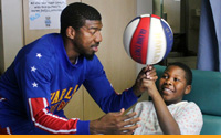 Harlem Globetrotters Photo Opportunity